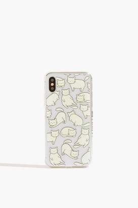 Skinny Dip Chill Cat Case - iPhone X/XS by Skinnydip
