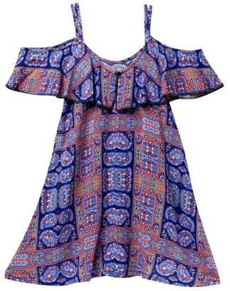 Tucker + Tate Off-The-Shoulder Floral Dress (Big Girls)