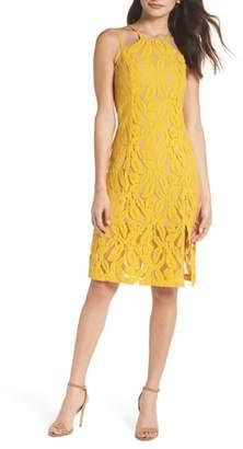 Ali & Jay Plantain Lace Halter Dress