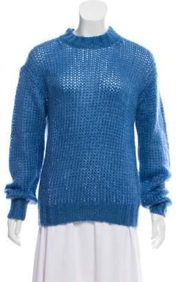 Prada Mohair Mock Neck Sweater w/ Tags