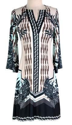 Hale Bob Garnet Beaded Dress