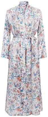 Derek Rose Brindisi Wildlife Dressing Gown