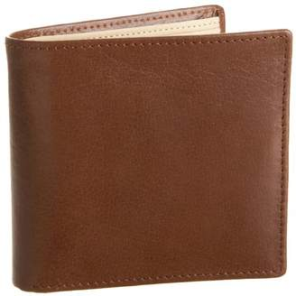 Leatherbay Double Fold Wallet With Coin Pocket