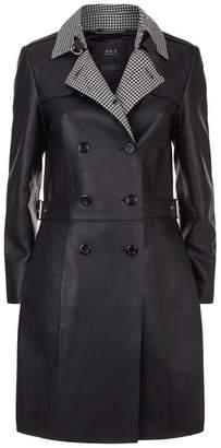 SET Leather Coat