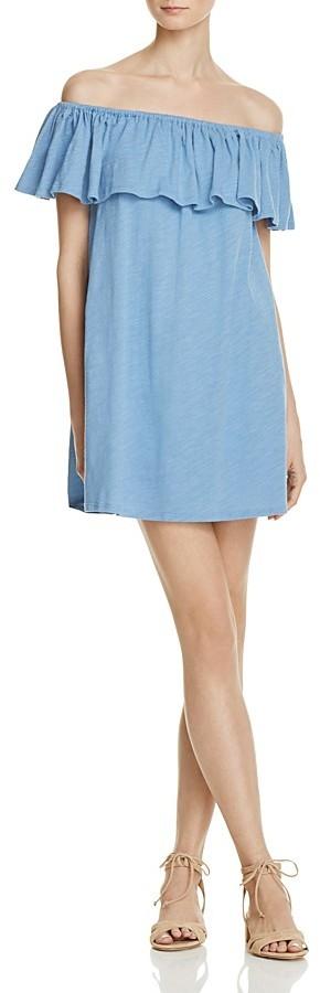 Rebecca Minkoff Diosa Off-the-Shoulder Dress 3