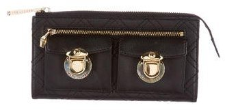 Marc Jacobs Marc Jacobs Quilted Leather Wallet