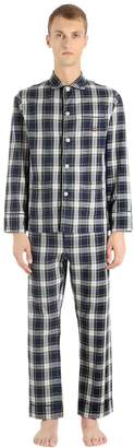 Checked Cotton Flannel Pajamas