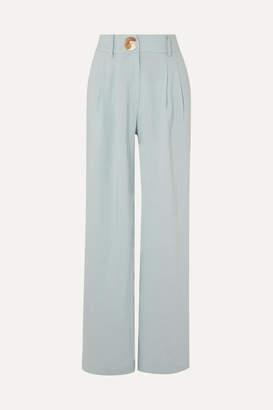 REJINA PYO - Eddie Woven Wide-leg Pants - Sky blue