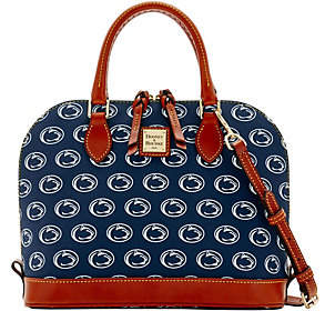 Dooney & Bourke NCAA Penn State University ZipZip Satchel - ONE COLOR - STYLE