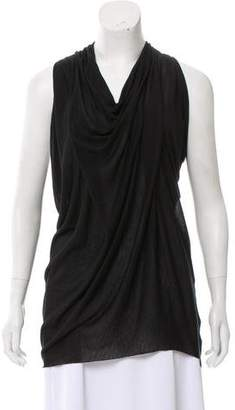 Yigal Azrouel Cut25 by Sleeveless Cowl Neck Top