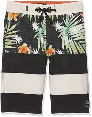 Vans Boys' Era Boardshort Swim Trunks, (Manufacturer Size: )