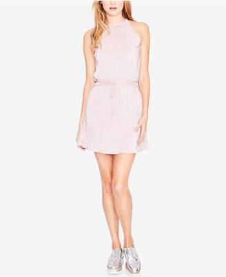 Rachel Roy Pleated Mini Dress