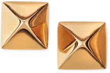 Anita Ko 18k Rose Gold Pyramid Stud Earrings