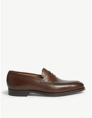 Crockett Jones Crockett & Jones Sydney leather penny loafers
