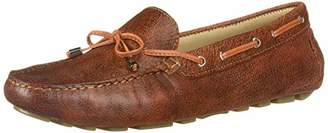 Driver Club USA Womens Leather Made in Brazil Natucket Driver Loafer