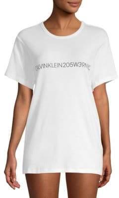 Calvin Klein Logo Cotton Sleepshirt