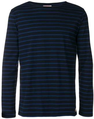 Armor Lux striped print long sleeve top