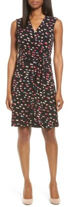 Women's Vince Camuto Abstractions Print Wrap Dress $99 thestylecure.com