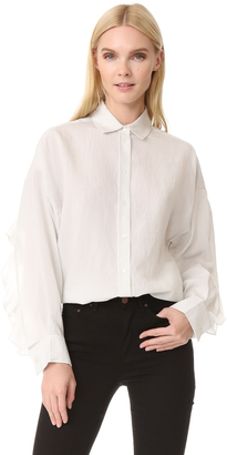 IRO.JEANS Aadi Blouse $288 thestylecure.com