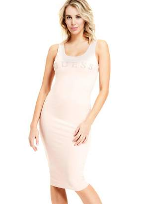 Factory Guess Women's Nivella Logo Midi Dress