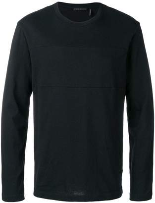 Helmut Lang long-sleeved logo T-shirt