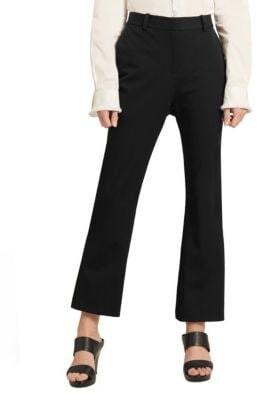Donna Karan Ivy Kick Flared Trousers