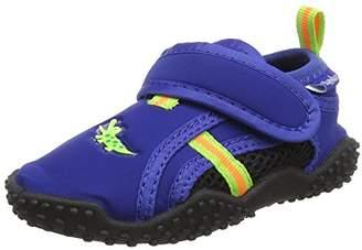 Playshoes Unisex Kids' Badeschuhe Krokodil mit Uv-Schutz Water Shoes,12.5 Child UK 30/31 EU