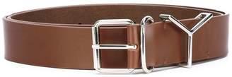 Y/Project Y / Project silver buckle belt