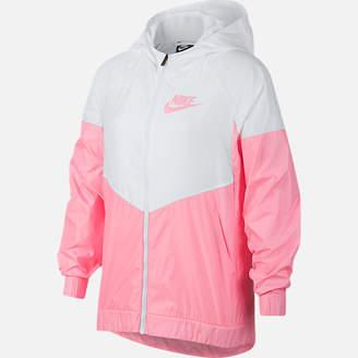 Nike Girls' Sportswear Windrunner Wind Jacket