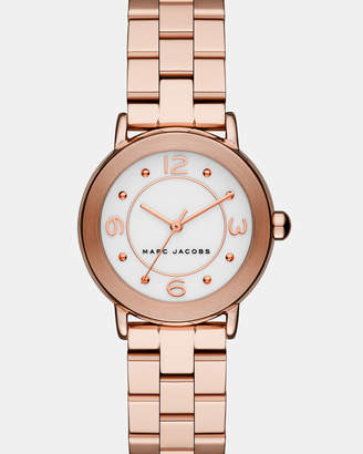 Marc Jacobs Riley Rose Gold-Tone Analogue Watch