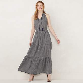 Lauren Conrad NEW! Women's Sleeveless Maxi Dress