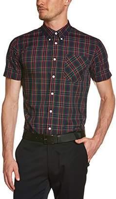 Merc of London Men's MACK, Shirt, Short Sleeve Dress