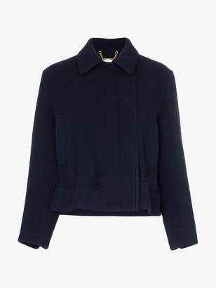 Chloé Drawstring waist cropped jacket
