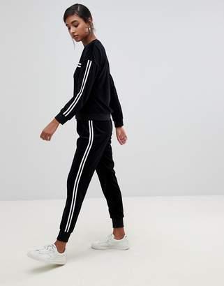 Brave Soul karrie velour track pants