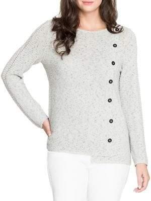 Nic+Zoe Textured Roundneck Sweater
