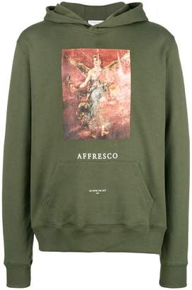 Ih Nom Uh Nit Affresco print hoodie