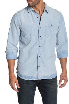 Lucky Brand Reworked One Pocket Regular Fit Work Shirt