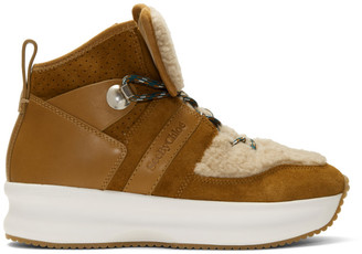 See by Chloe Brown Suede Casey Boots