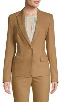 Escada Brikenani One-Button Blazer