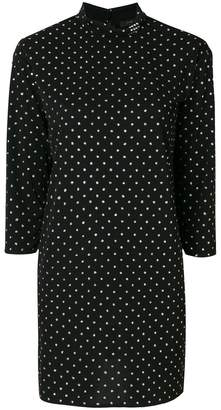 Marc Jacobs polka-dot fitted dress