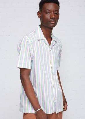 Cmmn Swdn Dusty Open Collar Shirt