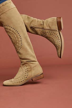 Faryl Robin Cutout Knee-High Boots
