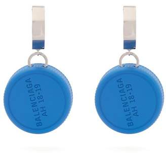 Bottle Cap Drop Earrings - Womens - Blue