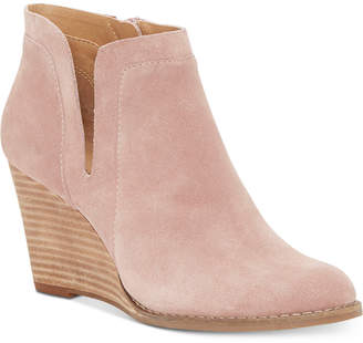Lucky Brand Women Yabba Wedge Booties Women Shoes