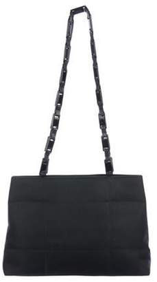 Prada Quilted Tessuto Tote Bag Nero Quilted Tessuto Tote Bag