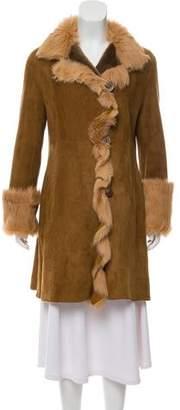 Blue Duck Shealing Knee-Length Coat
