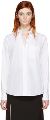 Lanvin White Logo Shirt $870 thestylecure.com