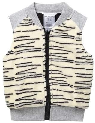 SOOKIBABY Tiger Stripe Plush Vest (Baby Girls)