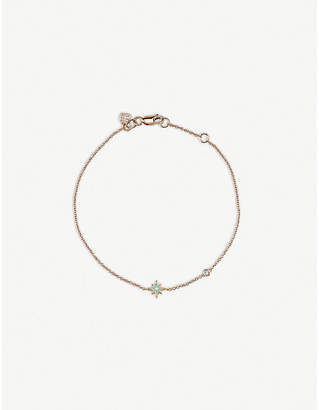 Sydney Evan The Alkemistry star 14ct rose gold bracelet