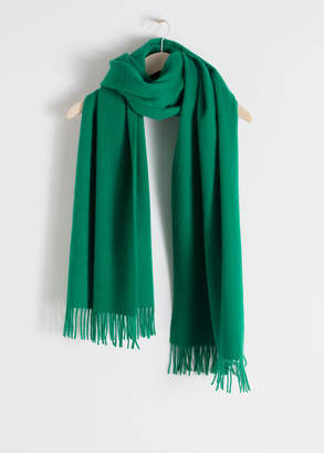 And other stories Oversized Wool Scarf